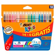 BIC Kids Kid Couleur, 14 + 4st. gratis