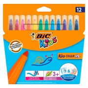 BIC Kids Kid Couleur XL, 12st.