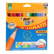 BIC Kids ECOlutions Evolution, 18+ 6st. gratis