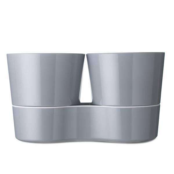 Mepal Kruidenpot Twin - Grey
