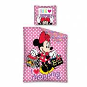 Dekbedovertrek Minnie Mouse Shopping