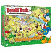Donald Duck Puzzel - Picknickperikelen, 1000st.