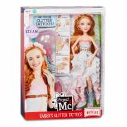 Project Mc2 Experimenten - Ember's Glitter Tattoos