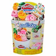 Play-Doh Rollzies IJswafel set