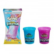 Play-Doh Super Stretch - Paars en Blauw
