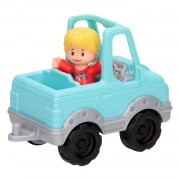 Fisher Price Little People - Blauwe Jeep