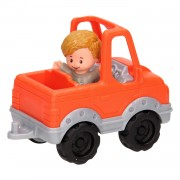 Fisher Price Little People - Oranje Pick-Up