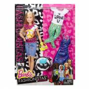 Barbie Fashionistas Peace & Love Pop & Fashions