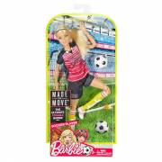 Barbie Made to Move - Professionele Voetbalster