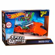 Hot Wheels Speed Winders Twisted Cycle Motor - Oranje