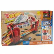 Hot Wheels Track Builder Bridge Stunt Set