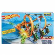 Hot Wheels Kurkentrekker Crash Racebaan