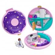 Polly Pocket Big Pocket World - Donut Pyjamafeestje