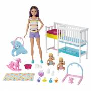 Barbie Skipper - Kinderspeelkamer Speelset