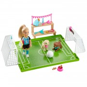 Barbie Dreamhouse Adventures Chelsea Voetbal Speelset