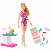 Barbie Dreamhouse Adventures Barbie in zwempak