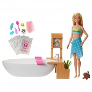 Barbie Wellness Bubbelbad en pop