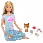 Barbie Wellness Meditatiepop