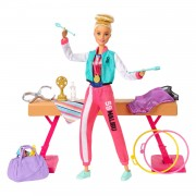 Barbie Gymastiek Pop en Speelset