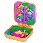 Polly Pocket Hidden Hideouts - Lila Dinosaurus