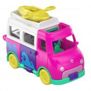 Polly Pocket Pollyville - Kampeerwagen