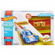Hot Wheels Track Builder - Scherpe bochtenset