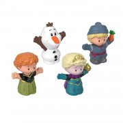 Fisher Price - Little People Frozen 4-pack figuren