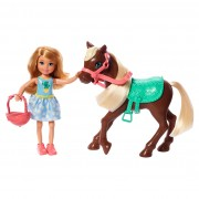 Barbie Chelsea Blond met Pony