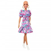 Barbie Fashionistas Pop - Bloemen Jurk
