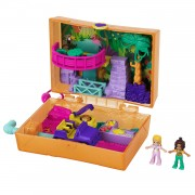 Polly Pocket Compacte Speelkoffer Jungle Safari