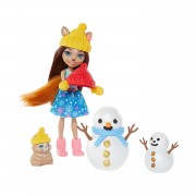 Enchantimals Pop  - Eekhoorn Snowman