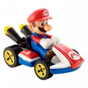 Hot Wheels Mario Kart Voertuig - Mario