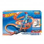 Hot Wheels Action - Wolkenkrabber Crash Speelset