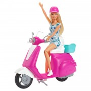 Barbie Pop met Scooter