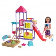 Barbie Skipper Speeltuin Speelset