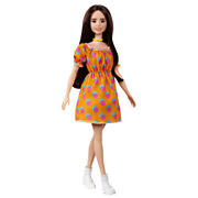 Barbie Fashionista Pop - Polka Stippen Offshoulder Jurkje