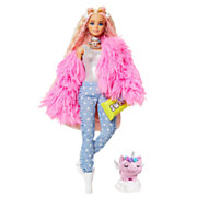 Barbie Extra Pop - Fluffy Pink Jacket