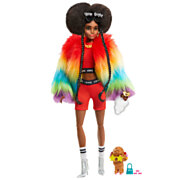 Barbie Extra Pop - Rainbow Coat
