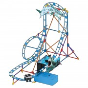 K'Nex Thrill Rides - Shark Attack Coaster, 170dlg