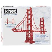 K'Nex Architecture Bouwset - Golden Gate Bridge, 1536dlg.