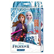 Frozen Sketch- en Stickerboek met Stencils