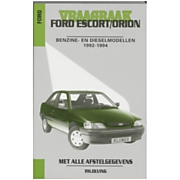 Vraagbaak Ford Escort / Orion Benz dies 92-94