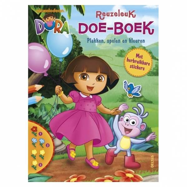 Dora reuzeleuk doe-boek