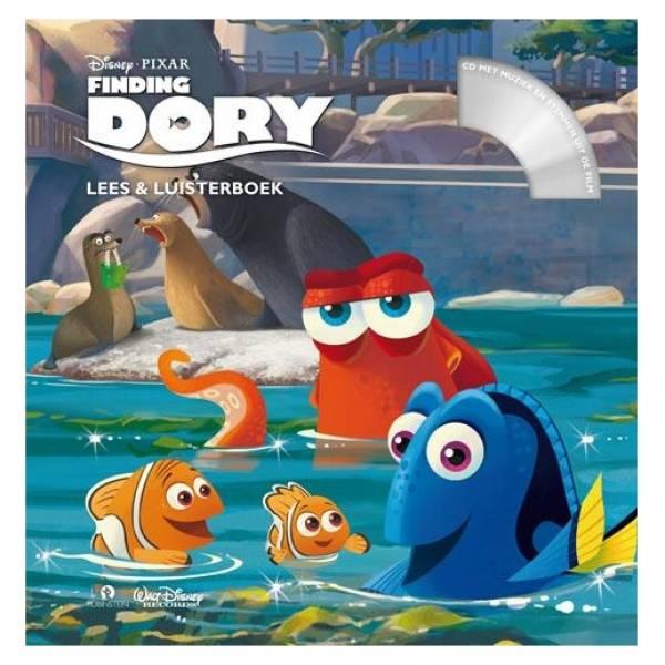 Finding Dory, Boek met CD