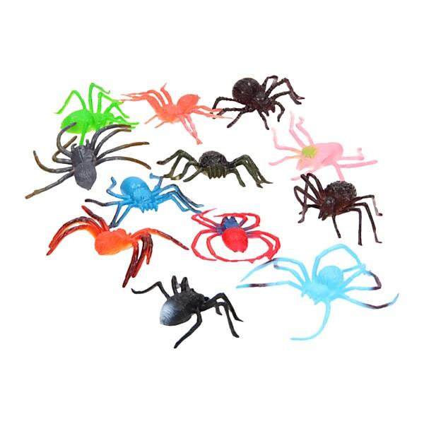 Spinnen in Zak, 12st.