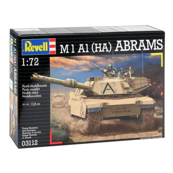 Revell M1A1 Abrams Tank