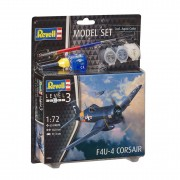 Revell Model Set F4U-4 Corsair Jachtvliegtuig