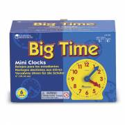 Big Time Mini Wijzerplaten, Set van 6