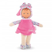 Mon Doudou Corolle Flowers - Miss Pink, 25cm