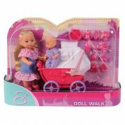 Evi Love Doll Walk Roze